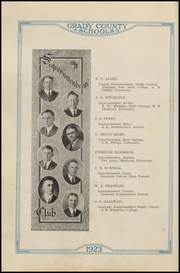 Ninnekah High School - Owl Yearbook (Ninnekah, OK) online yearbook collection, 1923 Edition, Page 16 of 236