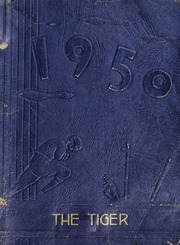Ninth Avenue School - Tiger Yearbook (Hendersonville, NC) online yearbook collection, 1950 Edition, Cover