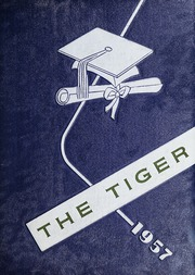 Ninth Avenue School - Tiger Yearbook (Hendersonville, NC) online yearbook collection, 1957 Edition, Cover