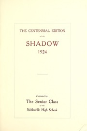 Noblesville High School - Shadow Yearbook (Noblesville, IN) online yearbook collection, 1924 Edition, Page 7