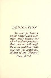 Noblesville High School - Shadow Yearbook (Noblesville, IN) online yearbook collection, 1924 Edition, Page 9