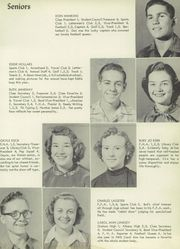 Page 13, 1954 Edition, Nocona High School - Chief Yearbook (Nocona, TX) online yearbook collection