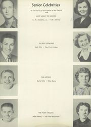 Page 16, 1954 Edition, Nocona High School - Chief Yearbook (Nocona, TX) online yearbook collection