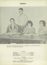Page 17, 1954 Edition, Nocona High School - Chief Yearbook (Nocona, TX) online yearbook collection