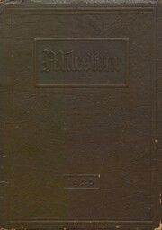 Norfolk High School - Milestone Yearbook (Norfolk, NE) online yearbook collection, 1925 Edition, Cover