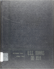 Norris (DD 859) - Naval Cruise Book online yearbook collection, 1967 Edition, Cover