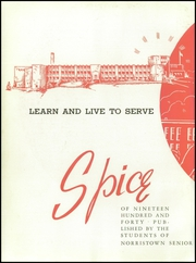 Page 6, 1940 Edition, Norristown Area High School - Spice Yearbook (Norristown, PA) online yearbook collection