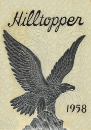 North Buncombe High School - Hilltopper Yearbook (Weaverville, NC) online yearbook collection, 1958 Edition, Cover
