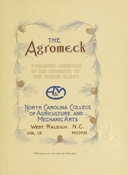 Page 9, 1911 Edition, North Carolina State University - Agromeck Yearbook (Raleigh, NC) online yearbook collection