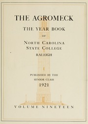 Page 9, 1921 Edition, North Carolina State University - Agromeck Yearbook (Raleigh, NC) online yearbook collection