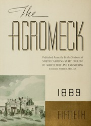Page 10, 1939 Edition, North Carolina State University - Agromeck Yearbook (Raleigh, NC) online yearbook collection