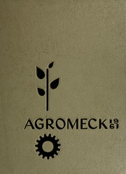 North Carolina State University - Agromeck Yearbook (Raleigh, NC) online yearbook collection, 1961 Edition, Cover