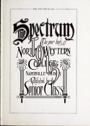 Page 7, 1915 Edition, North Central College - Spectrum Yearbook (Naperville, IL) online yearbook collection