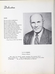 Page 10, 1950 Edition, North Central College - Spectrum Yearbook (Naperville, IL) online yearbook collection