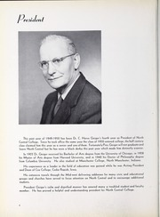 Page 12, 1950 Edition, North Central College - Spectrum Yearbook (Naperville, IL) online yearbook collection