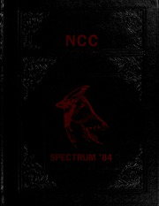 North Central College - Spectrum Yearbook (Naperville, IL) online yearbook collection, 1984 Edition, Cover