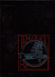 North Central High School - Tamarack Yearbook (Spokane, WA) online yearbook collection, 1981 Edition, Cover