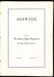 North Dakota State College of Science - Agawasie Yearbook (Wahpeton, ND) online yearbook collection, 1914 Edition, Page 7