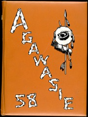 North Dakota State College of Science - Agawasie Yearbook (Wahpeton, ND) online yearbook collection, 1958 Edition, Cover