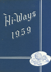 North Fulton High School - HiWays Yearbook (Atlanta, GA) online yearbook collection, 1959 Edition, Cover
