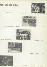 Page 13, 1959 Edition, North Fulton High School - HiWays Yearbook (Atlanta, GA) online yearbook collection