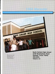 North Garland High School - Marauder Yearbook (Garland, TX) online yearbook collection, 1984 Edition, Page 5