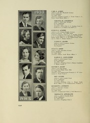 Page 10, 1932 Edition, North High School - Memory Yearbook (Columbus, OH) online yearbook collection