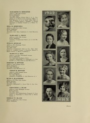 Page 13, 1932 Edition, North High School - Memory Yearbook (Columbus, OH) online yearbook collection