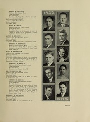 Page 15, 1932 Edition, North High School - Memory Yearbook (Columbus, OH) online yearbook collection