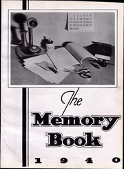 Page 7, 1940 Edition, North High School - Memory Yearbook (Columbus, OH) online yearbook collection