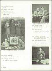 North High School - Polaris Yearbook (Sheboygan, WI) online yearbook collection, 1955 Edition, Page 18 of 140