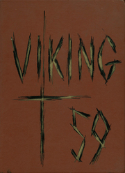 North High School - Viking Yearbook (Denver, CO) online yearbook collection, 1959 Edition, Cover