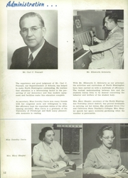 Page 16, 1951 Edition, North Huntingdon High School - Norhiscope Yearbook (Irwin, PA) online yearbook collection