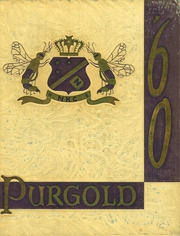 North Kansas City High School - Purgold Yearbook (North Kansas City, MO) online yearbook collection, 1960 Edition, Cover