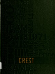 North Liberty High School - Crest Yearbook (North Liberty, IN) online yearbook collection, 1971 Edition, Cover