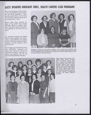 North Mecklenburg High School - Viking Yearbook (Huntersville, NC) online yearbook collection, 1967 Edition, Page 27