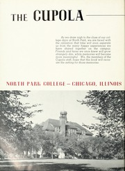 North Park University - Cupola Yearbook (Chicago, IL) online yearbook collection, 1953 Edition, Page 6