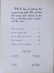 Page 6, 1953 Edition, North Quincy High School - Manet Yearbook (North Quincy, MA) online yearbook collection