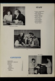 Page 8, 1961 Edition, North Quincy High School - Manet Yearbook (North Quincy, MA) online yearbook collection