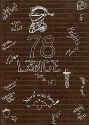 Northeastern High School - Lance Yearbook (Fountain City, IN) online yearbook collection, 1978 Edition, Cover