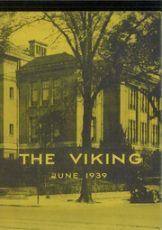 Northern High School - Viking Yearbook (Detroit, MI) online yearbook collection, 1939 Edition, Cover