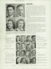 Page 12, 1945 Edition, Northern High School - Viking Yearbook (Detroit, MI) online yearbook collection