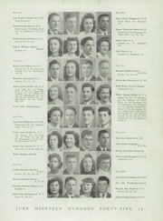 Page 15, 1945 Edition, Northern High School - Viking Yearbook (Detroit, MI) online yearbook collection