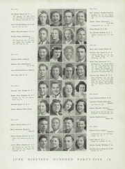 Page 17, 1945 Edition, Northern High School - Viking Yearbook (Detroit, MI) online yearbook collection