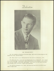 Northern Michigan Christian School - Reflector Yearbook (McBain, MI) online yearbook collection, 1951 Edition, Page 6