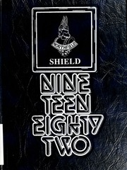 Northfield High School - Shield Yearbook (Wabash, IN) online yearbook collection, 1982 Edition, Cover
