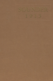 Northside High School - Bruin Yearbook (Fort Smith, AR) online yearbook collection, 1913 Edition, Cover