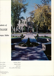 Page 7, 1965 Edition, Northwest Nazarene University - Oasis Yearbook (Nampa, ID) online yearbook collection