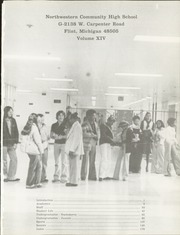 Northwestern Community High School - Expedition Yearbook (Flint, MI) online yearbook collection, 1978 Edition, Page 5 of 190