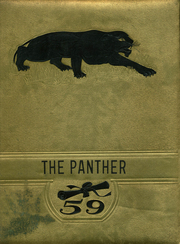 Northwestern High School - Panther Yearbook (Darlington, PA) online yearbook collection, 1959 Edition, Cover